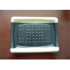 China Black And White Plastic Packaging Trays , Food Serving Tray Keep Food Fresh for sale