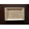 China Fast Food Serving Plastic Packaging Trays With Prolong Shelf Life , Heat Resistance for sale