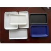 China Multi - Color Plastic Packaging Trays For Restaurant Cafeteria Dinner Pizzeria for sale