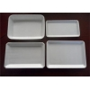 China Outdoor Serving Disposable Food Trays Divided Bath With Custom Printed for sale