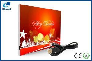 China USB recordable christmas cards on sale