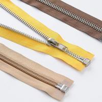 China Zipper 4 Aluminium Zipper Open End with A/L Slider on sale