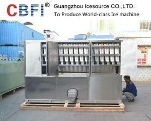 China 60 Tons Large Industrial Ice Flake Making Machine with Automatic Ice Packing System for Fishery on sale