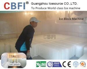 China 3 Tons Commercial Stainless Steel Block Ice Making Machine Long Lifespan on sale