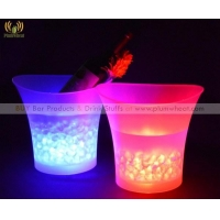 China Permalink Large Capacity 5L LED Ice Beer/Champagne Bucket  IB01 on sale