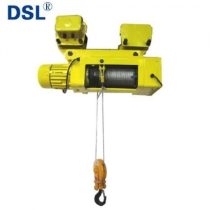 China SH Type Foot-mounted Low Headroom Electric Wire Rope Hoist with Motor Trolley on sale