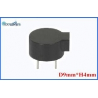 Mini Acoustic Component Passive Magnetic Transducer External Driven 2730Hz Pin Type