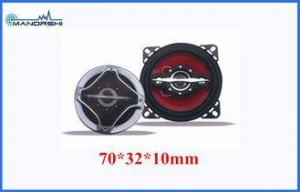China Portable Car Stereo Subwoofer Car Speakers 70mm 90DB Rubber Edge Horn on sale
