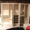 China American Solid Wood Classic Furniture King Size Bedroom Whole Set Wardrobe Closet for sale