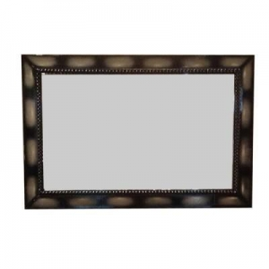 China Make Up Mirror Glossy White Dressing Mirror in Living Room on sale