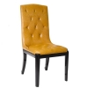 China New French Louis Style Dining Chair Furniture with Oxhide Leather for sale