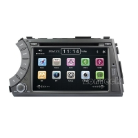 China ZK-7720M 7 Inch SsangYong Kyron Car DVD GPS Player on sale