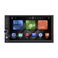 China ZK-6703Y Universal 2Din Android 6.0 Car DVD GPS Player on sale