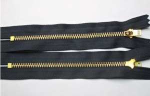 China Zippers and Sliders 4# C/E Copper Zipper on sale