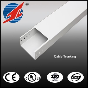 China Galvanized Cable Trunking with National Standard Thickness and Cover on sale