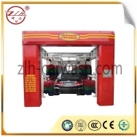 China High Pressure 11 Brushes Tunnel Car Wash Equipment on sale