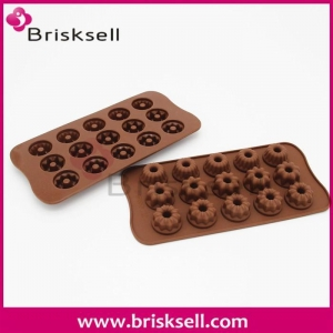 China silicone flower chocolate mold BKS-g1022 on sale