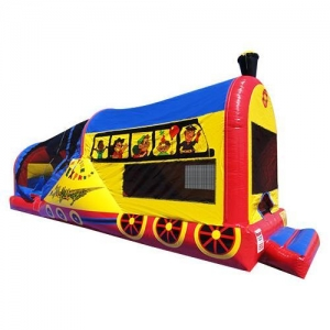 China Inflatable Games Train Combo No.SKU) CCJS on sale
