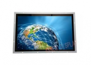 China 17.3 HD G Grade Wide Screen Industrial LCD Monitor / capacitive touch screen monitor on sale