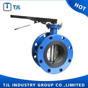 China Butterfly Valve DI Body Concentric Butterfly Valve Flange Type on sale