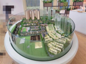 China Physical Model Real Estate For Dispaly, High Rise Building Block Making Model on sale