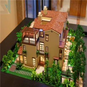China Villa Miniature Building Model For Real Estate &construction,3d Physical Model on sale