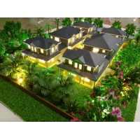 China 3d Model Architecture Making Factory For Australian Townhouse With Landscape on sale