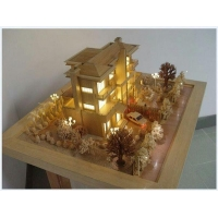 China Architectural Scale Model House,wooden Architectural Models on sale