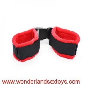 China Cloth Bondage Underbed Bedroom Restraint cuffs for Role Play ,adult sex toys on sale