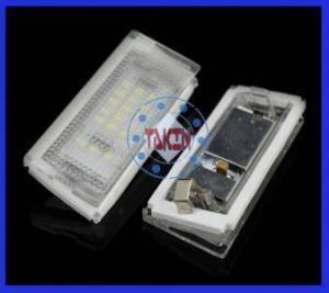 China BMW E46 4D LED license plate light on sale