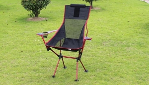 China light weight high back folding camping chair on sale
