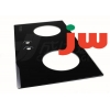 China 2 Burner Gas Stove Tempered Glass Panel Black Machinable With 4 Mm Thickness for sale