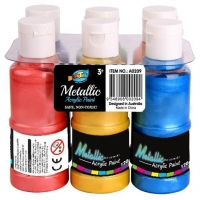 China Metallic Acrylic Paints on sale
