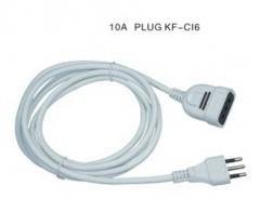 China Italy extension cord,PVC cable on sale