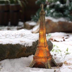 China Eiffel Tower Solar Decoration on sale