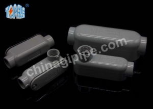 China T Rigid Conduit Body Threaded Outlet Bodies with Cover and Gasket Aluminum Die Cast on sale