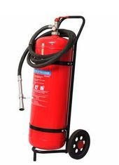 China Wheeled ABC Dry Chemical Powder Fire Extinguisher 25kg Reliable For Garages on sale