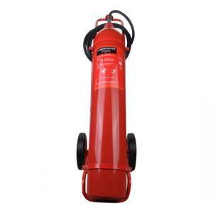 China BSI Kitemark EN1866 Approval 10KG CO2 Trolley Fire Extinguisher on sale