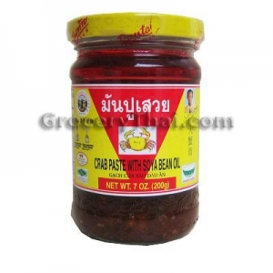 China Crab Paste w Soya Bean Oil 7 oz. on sale