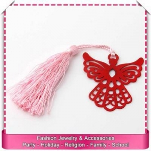 China Bookmark tassels wholesale, hot sale metal bookmark blank on sale