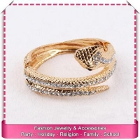High quality imitation gold cuff bracelet serpent, low price party bracelet