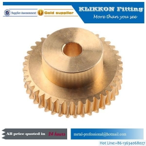 China Bronze Brass Helical Bevel Spur Worm Gear on sale