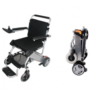 China Lightweight Folding Electric Power Wheelchair for Sale on sale