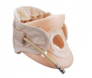 China Air cushion Cervical traction with single airbag/ Inflatable cervical spine traction on sale