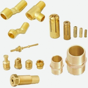 China CNC Brass Water Pipe Fittings for Sanitary System on sale