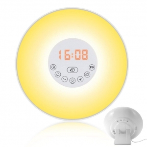China New Innovations EP-LP03 Wake-Up Light Sunrise Alarm Clock Bedside Lamp on sale