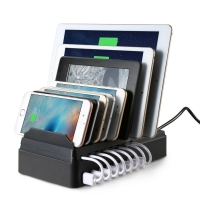 China New Innovations EP-CS008 Multi-Device 8-Port USB Desktop Charging Station on sale