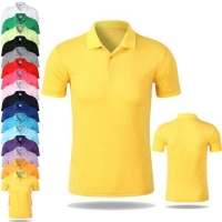 100% Cotton Design Mens Heavy Weight Promotional Polo Shirt with Collar