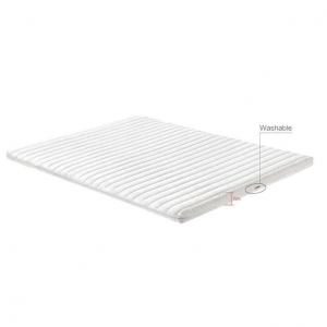 China Low Prices Comfort 5cm 7cm 10cm High Density Foam Mattress Topper Rolled in A Box on sale
