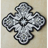 Custom Chenilled Mixed Sequined Embroidery Iron-on Patches with Merrow Border
